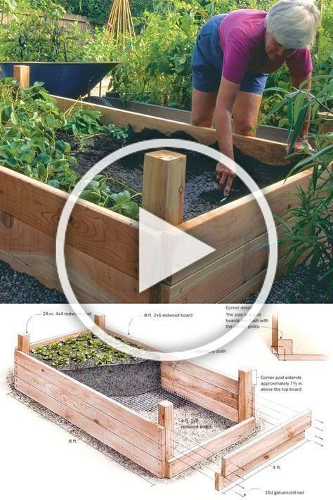 Photo of 28 best DIY raised bed gardens, easy to build with cheap simple materials …, #…