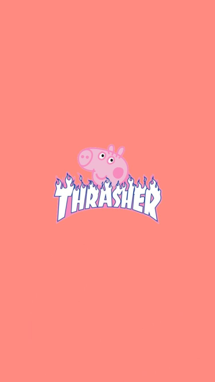 Peppa pig a icon, plus another wallpaper ;) trashystarr