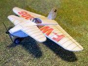 SD Nicolas-Claude NC-2 Aquilon Free Airplane Paper Model Download