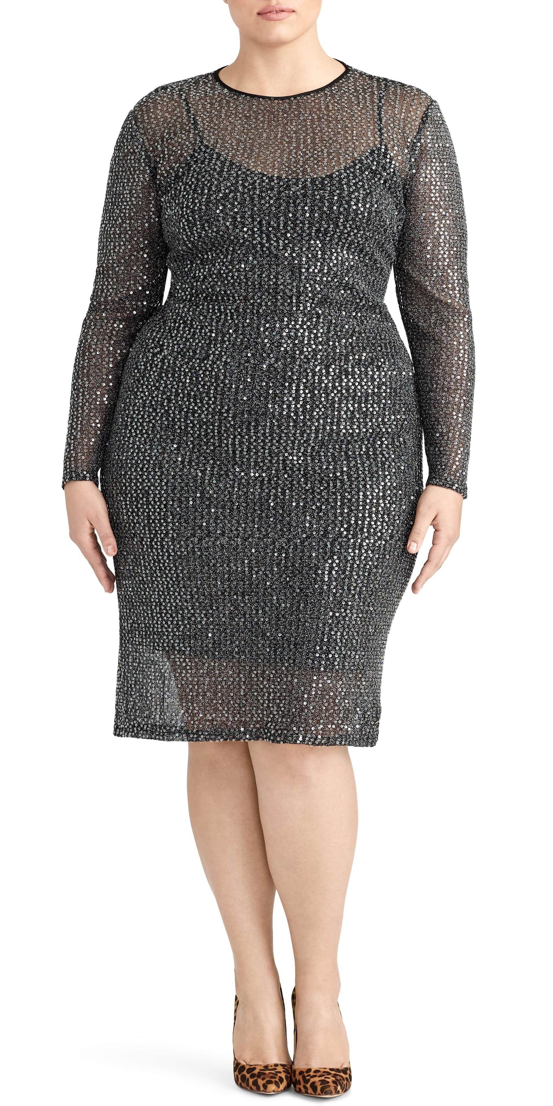 a560bfe7ec 51 Plus Size Party Dresses - Holiday and New Years Party Dresses - Plus Size  Fashion for Women - alexawebb.com  plussize  alexawebb