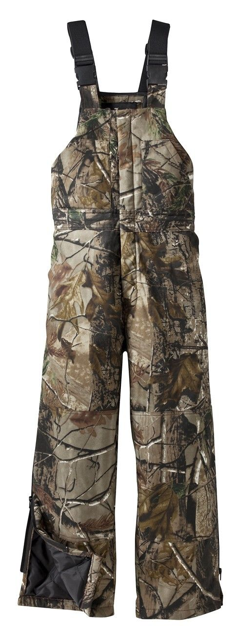 walls 93033rt youth insulated bib insulated bib on walls camouflage insulated coveralls id=47414