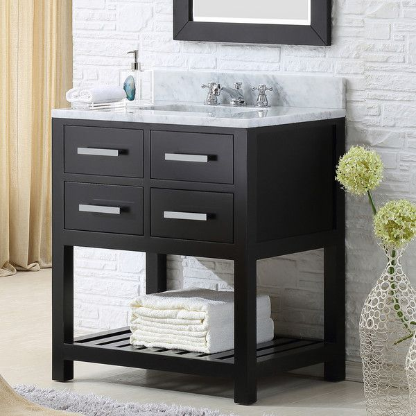 FREE SHIPPING! Shop Wayfair for Water Creation Madalyn 30 Single Bathroom Vanity Set - Great Deals on all Home Improvement products with the best selection to choose from!