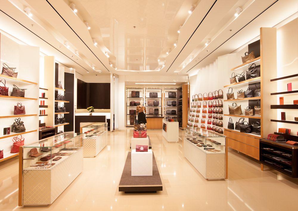 add8dcd5fc0 Longchamp Paris - The Label's Biggest European Store | More at  http://interiordesignshop