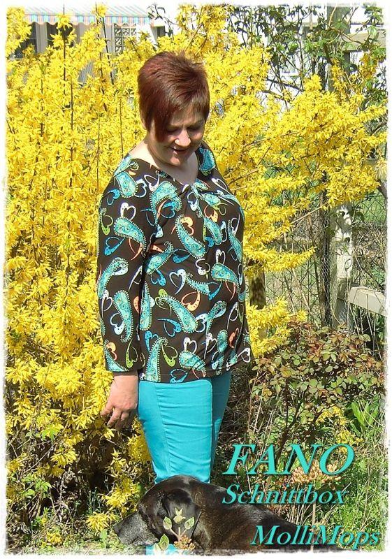 Knoten im Shirt… (MolliMops) | Knoten, Shirts und Schnittmuster