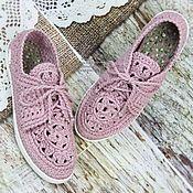 645c1dddf111 Магазин мастера Мадам Сапожок Ксения: обувь ручной работы, обучающие  материалы Связанная Крючком Обувь,
