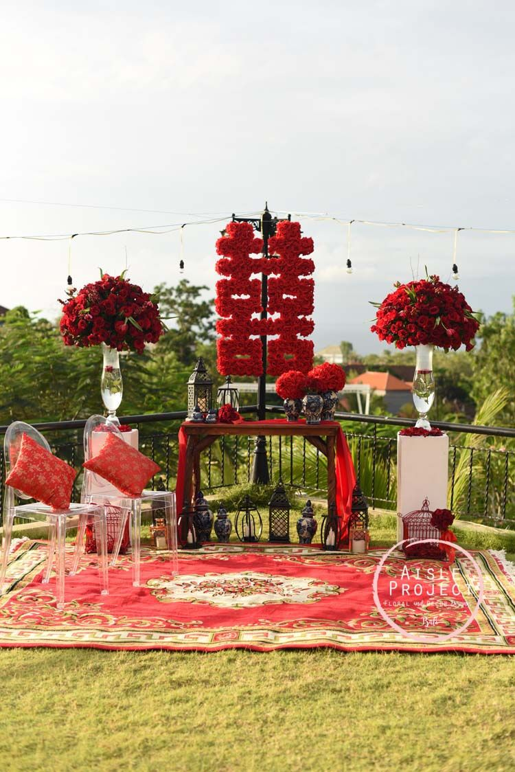 Chinese Wedding Tea Ceremony, Tea Pai, Tradition Ceremony, Aisle ...