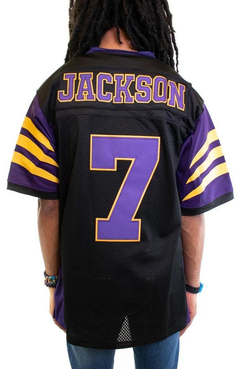 lamar jackson black jersey