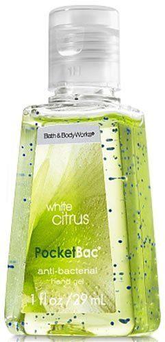 White Citrus Pocketbac Bath And Body Works Bath And Body Deep