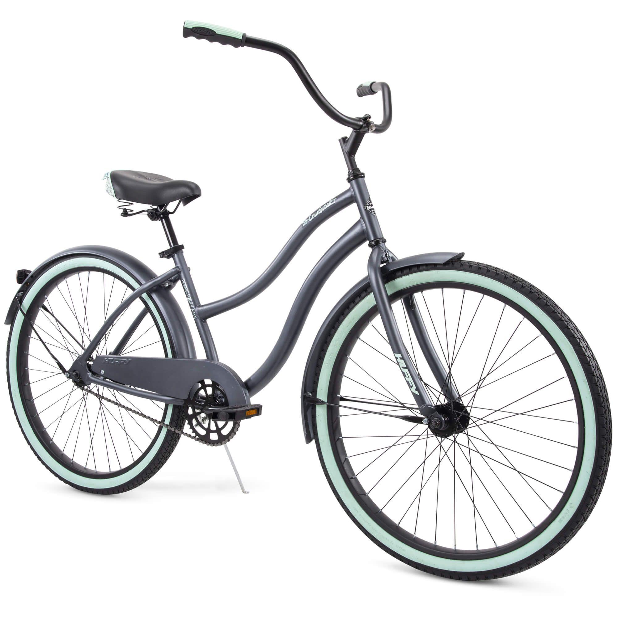 Free 2 Day Shipping Buy Huffy 26 Cranbrook Women S Comfort Cruiser Bike Gray At Walmart Com In 2020 Cruiser Bike Huffy Comfort Bike