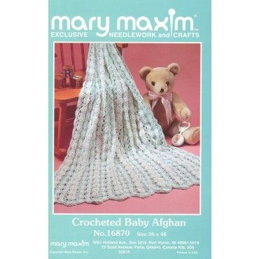 Mary Maxim - Mile A Minute Baby Afghan Pattern - Patterns & Books ...