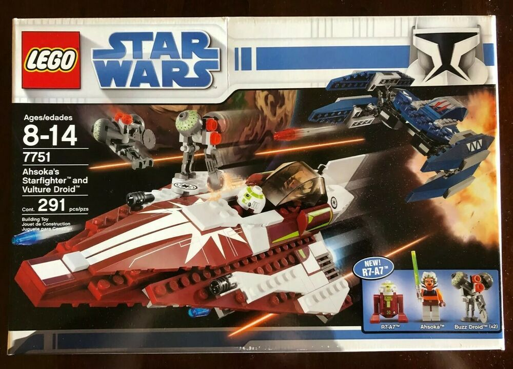 Lego Star Wars Ahsokas Starfighter And Vulture Droid 7751