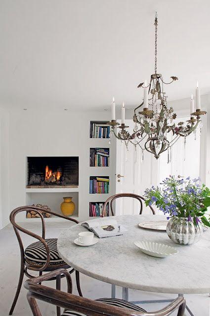 Clean Rustic modern Decoracao Pinterest Table ronde, Idée de