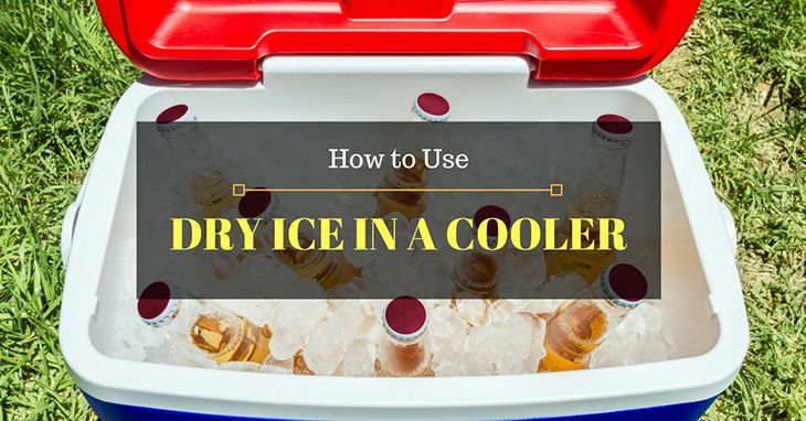 Adventuremin Dry Ice Cooler Camping Coolers