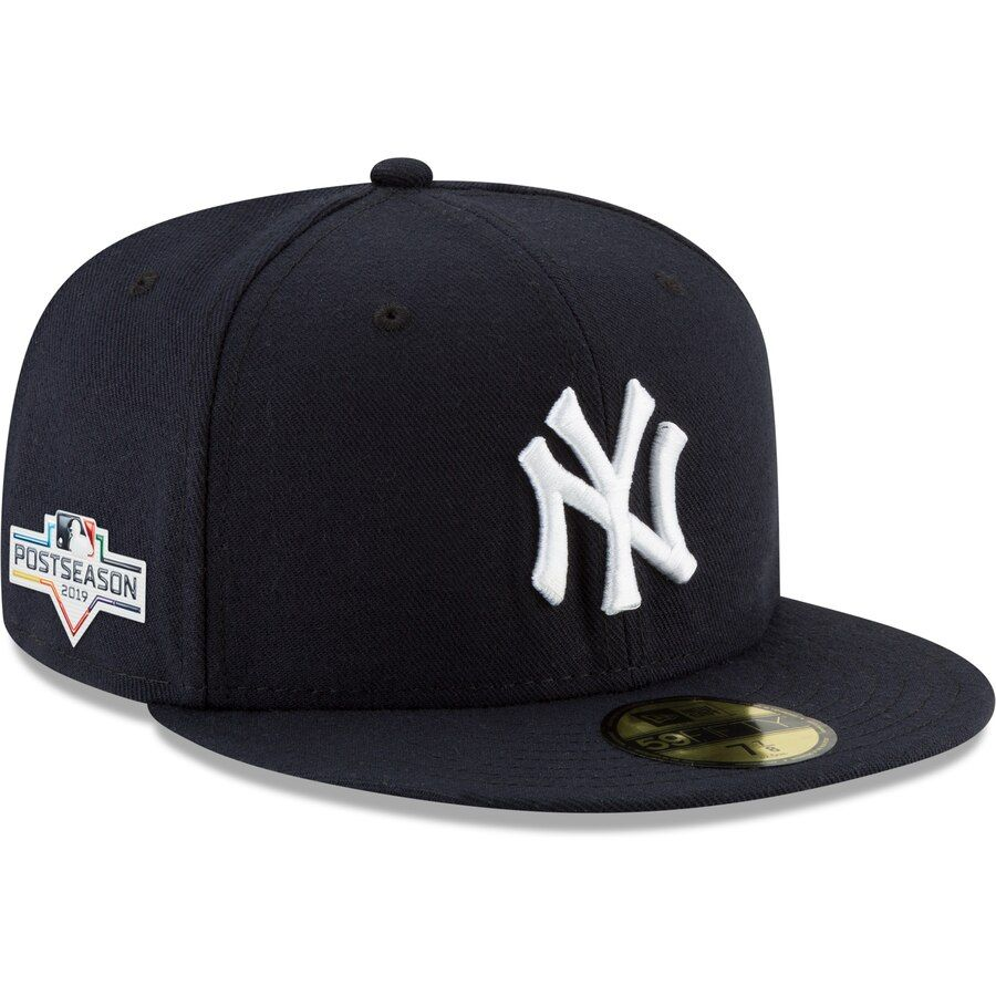 New york yankees new era 2019 postseason side patch