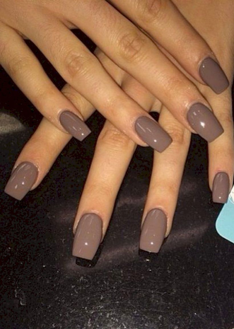 70 Beautiful Nail Color For Fall 2019 With Images Nail Colors