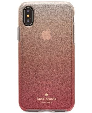 brand new 5b1c5 d88d3 Glitter Ombré iPhone X Case in 2019 | Products | Kate spade iphone ...