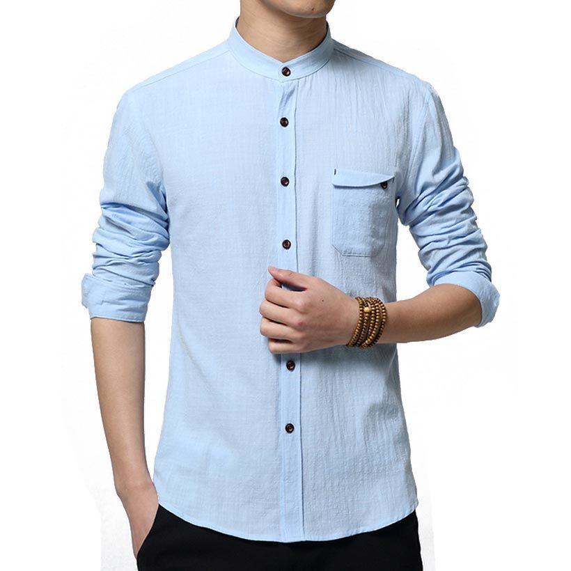 Top Cuello Redondo Casual Hombres Camiseta Slim Fit De Manga Corta Camisa De Algodón Jersey Solid qSNZ8s