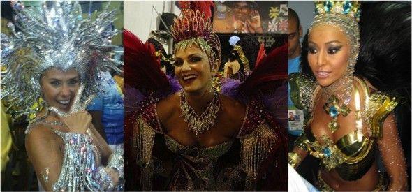 """Skindun Skindun! É aquilo, ou você ignora o carnaval, mas um """"resumo"""" dele é bem vindo, ou você ama carnaval e não tem tempo pra visitar todos os grandes portais da vida. Daí reuni as mocinhas mais relevantes da primeira noite carioca. Aquelas que nos cativaram de alguma maneira, seja na maquiagem espetaculosa ou no …"""