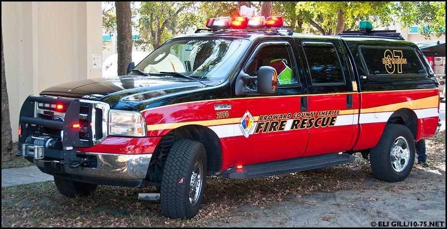 Broward County (FL) Sheriff Fire Rescue Battalion 37 Ford F