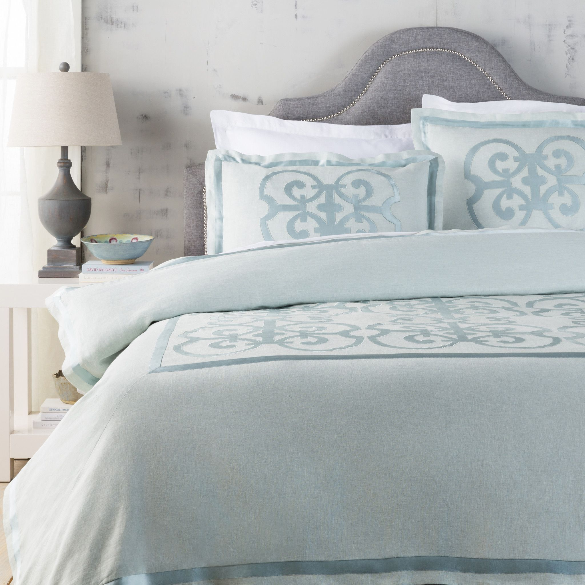 ocean teal bed and printed prism cotton square gray made set lb bedding bedset grey double com