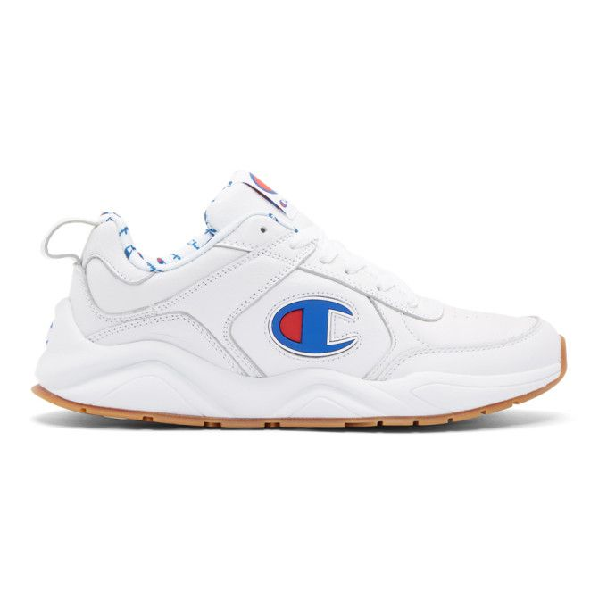 256c3d1e0b1cf CHAMPION White 93Eighteen Big C Sneakers.  champion  shoes