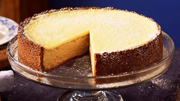 Baked Caramel Cheesecake Australian Women S Weekly Mobile Cheesecake Recipes Cheesecake Caramel Cheesecake