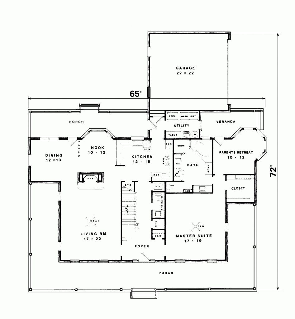Great New England Country Homes Floor Plans House Plans Uk Southern House Plans Country House Design