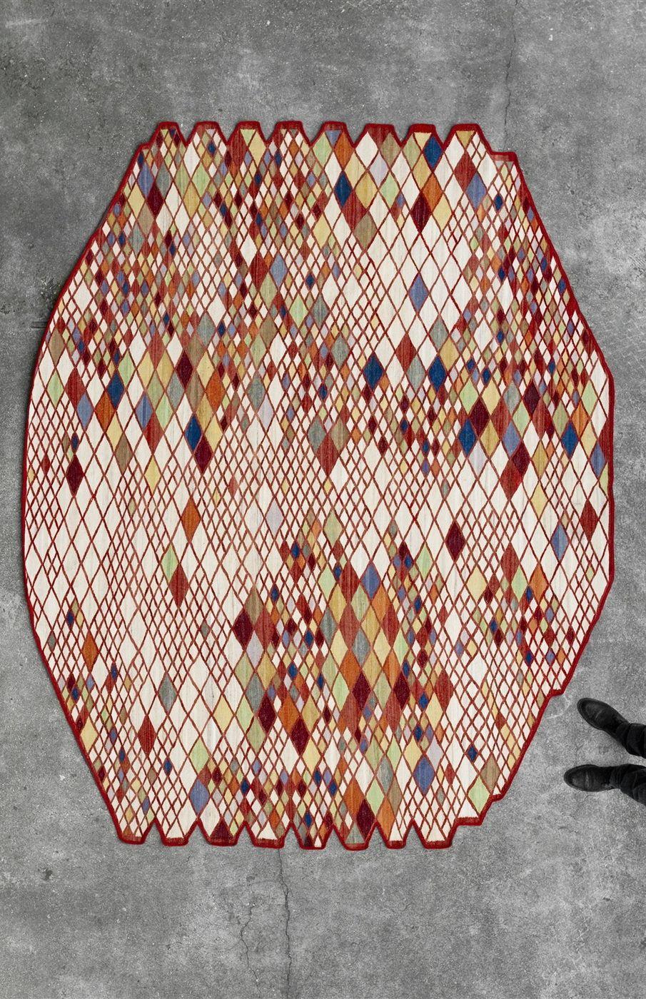 Losanges nani marquina pattern pinterest textiles - Alfombras nani marquina ...