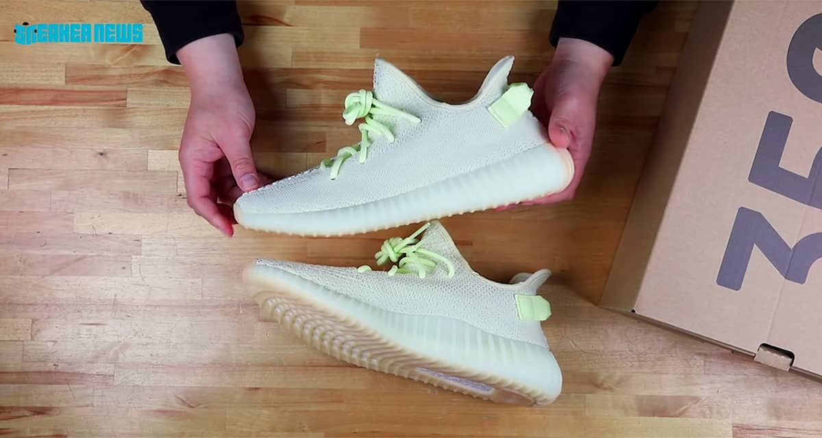 4cfa520437f1e 이지 부스트 350 V2 버터 언박싱 by Sneakernews(Yeezy Boost 350 V2 Butter Unboxing