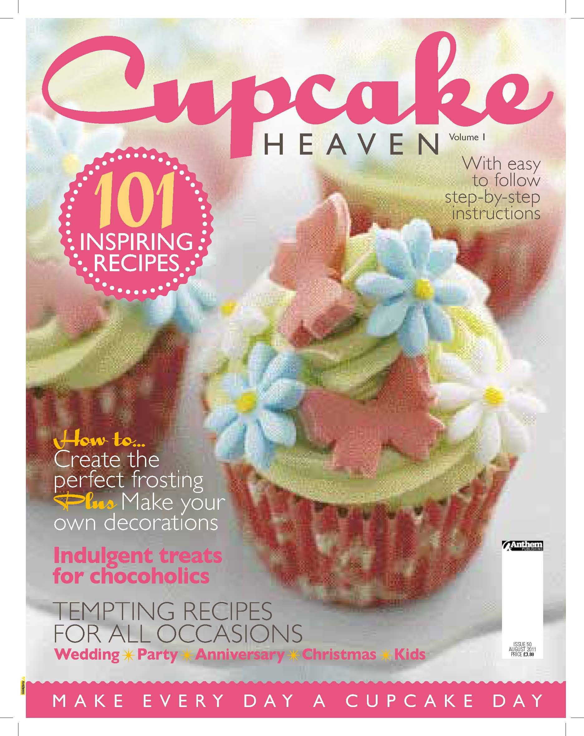 Subscription to Cupcake Heaven Magazine Cupcake day