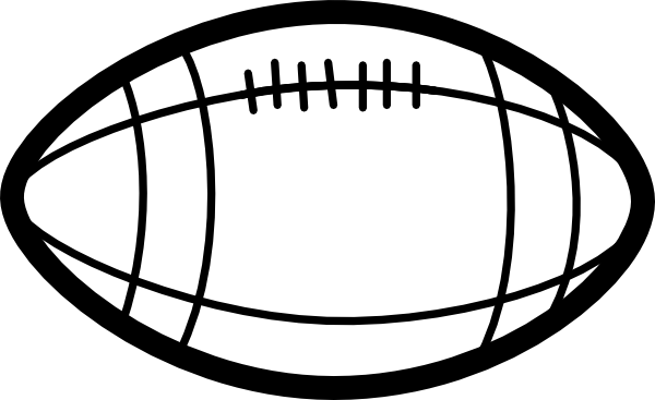 football clipart black and white clipart panda free clipart images rh pinterest com free clip art football game free clip art football images