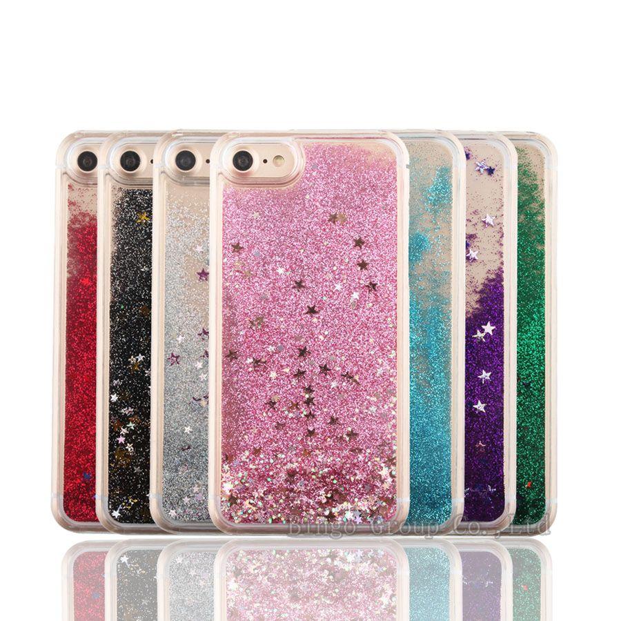 iphone 7 plus carcasas purpurina