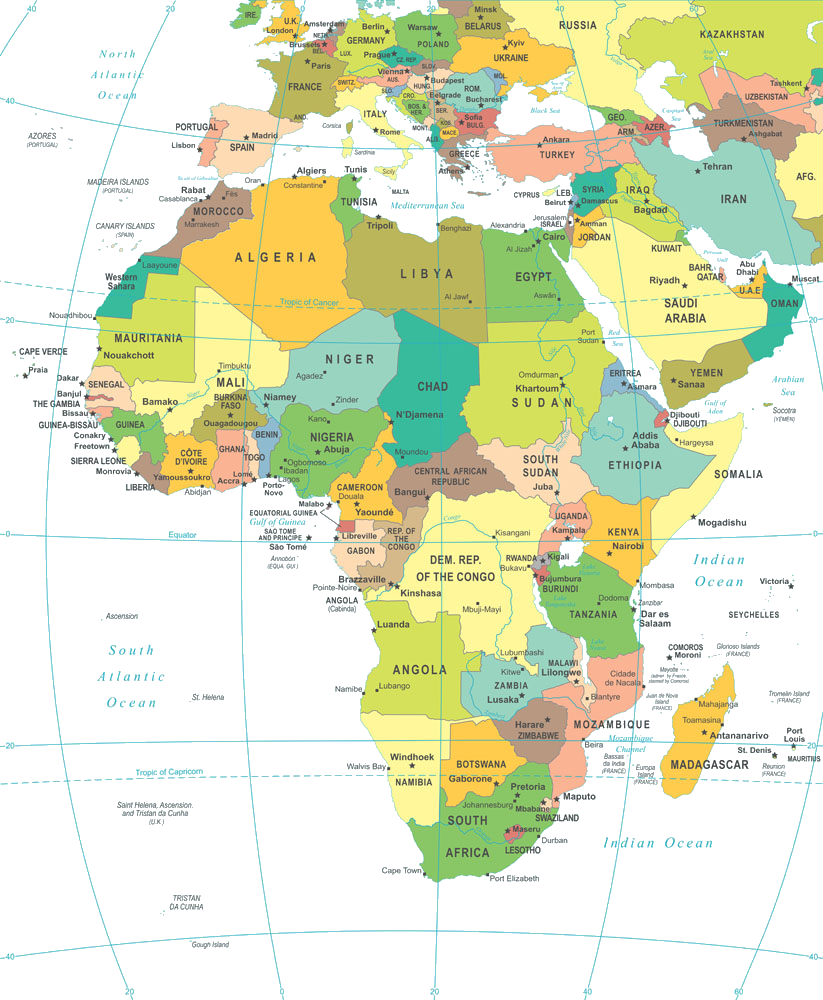 Map Of Africa Png Image Africa Map Map Africa