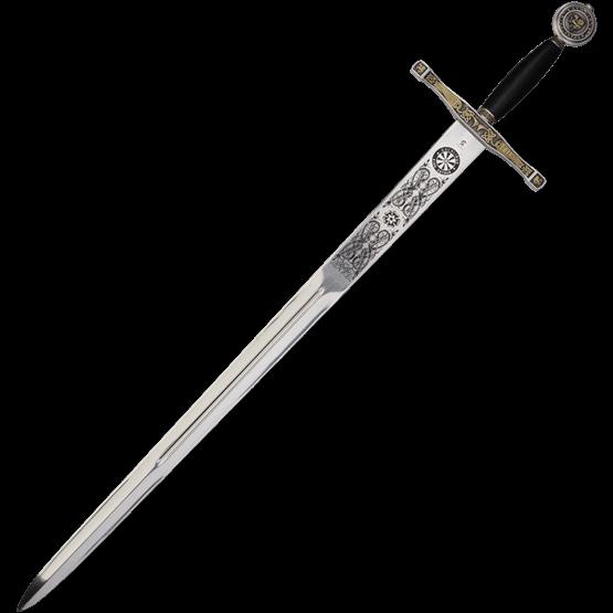 Excalibur Sword Sg281 By Medieval Collectibles Swords Medieval Sword Tattoo Sword