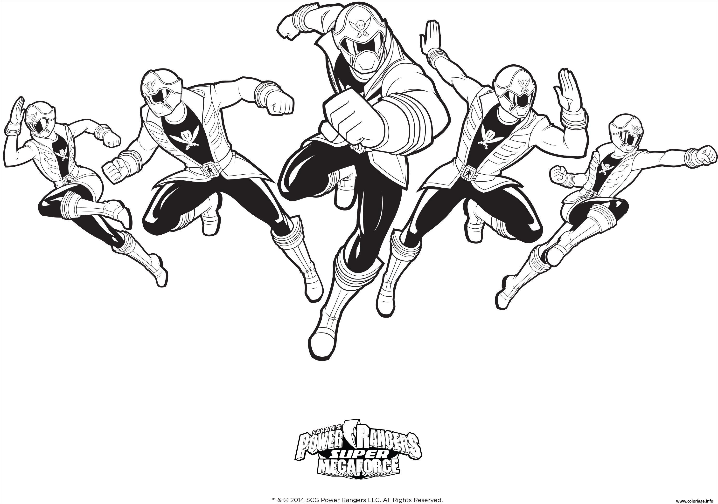 Coloriage Power Rangers Super Mega Force Jecolorie De Power Rangers Rescue Coloriage Dessin Symcomp Monstros Colorir Ranger