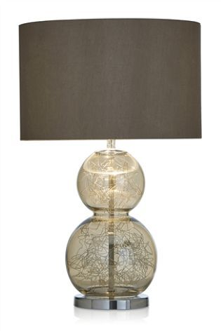 Buy mink crackle glass table lamp from the next uk online shop buy mink crackle glass table lamp from the next uk online shop aloadofball Choice Image