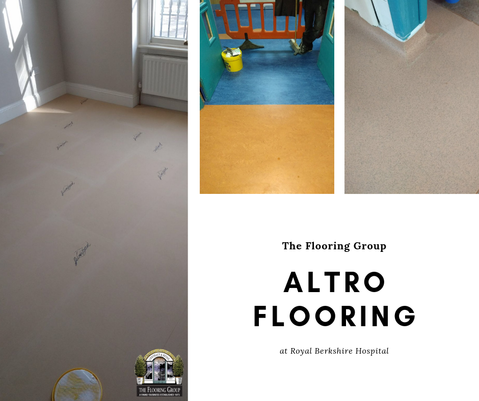Royal Berkshire Hospital Flooring, Home decor, Tile floor