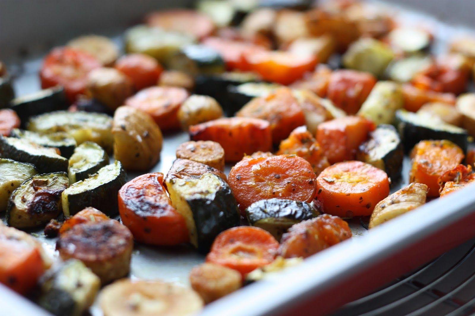 Légumes d'hiver rôtis au four | Recettes de cuisine