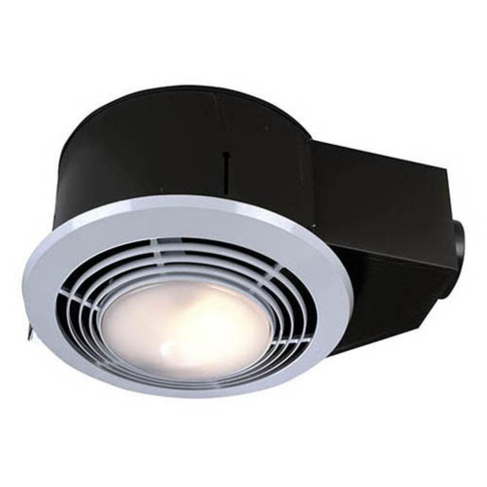 Broan Nutone Qt9093wh Bathroom Heat Fan Light Night Light With Switch Exhaust Fans At