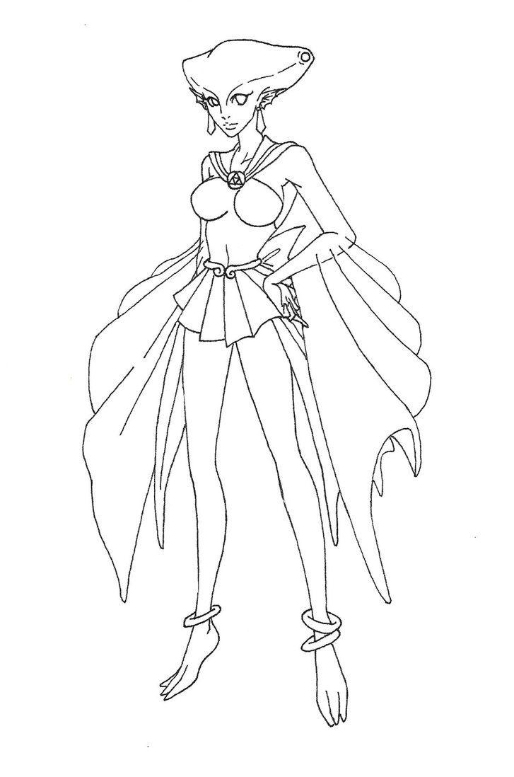 Sailor Ruto Zelda Sailor Moon Cross Over By Carteraug21 On Deviantart Kleurplaten