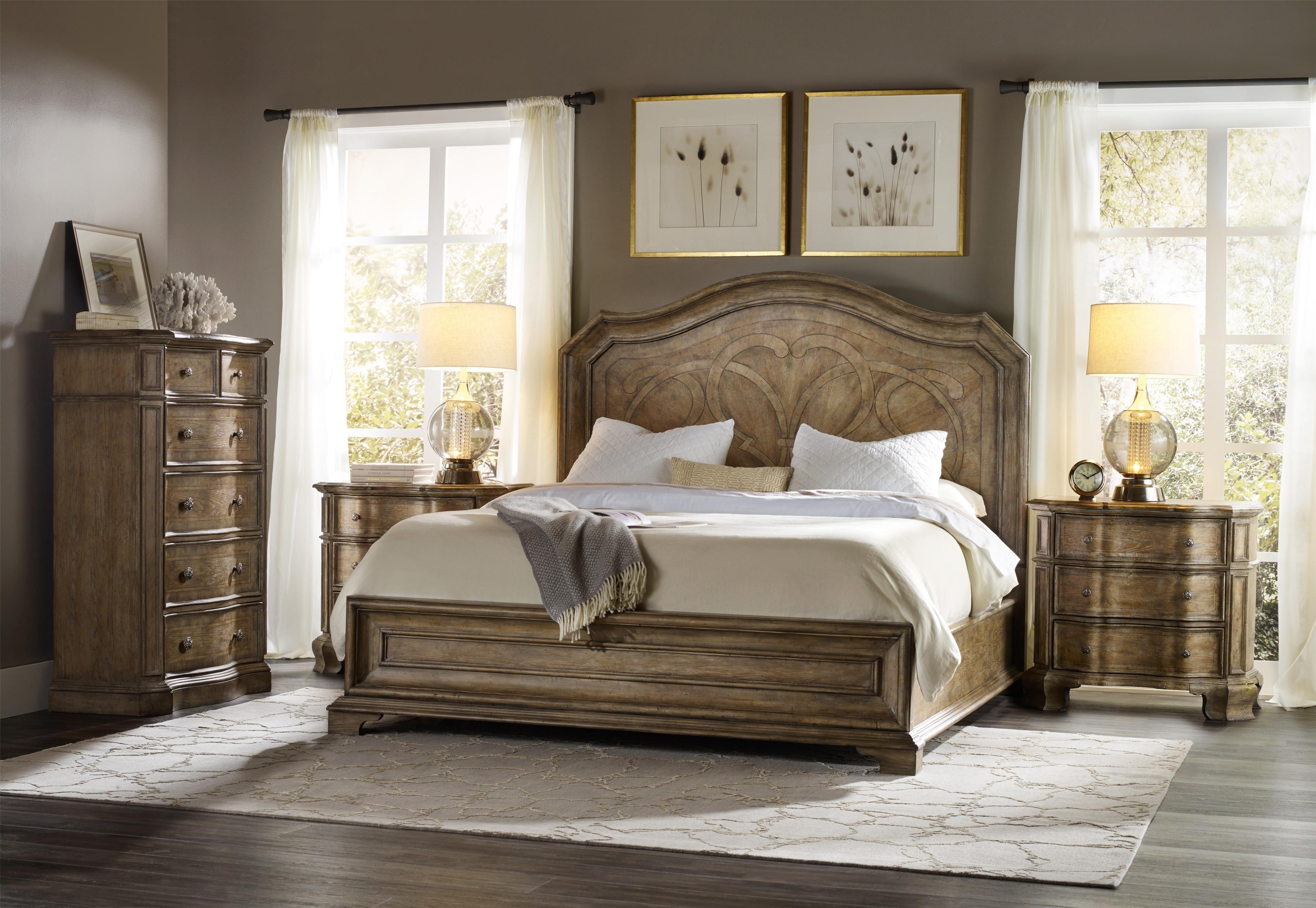 Solana King Bedroom Group 1 By Hooker Furniture