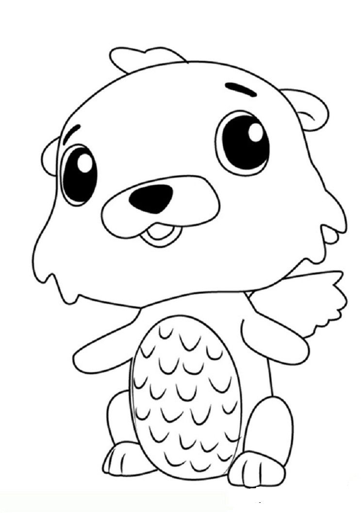 Hatchimals Swotter Coloring Pages Hatchimals Coloring Pages
