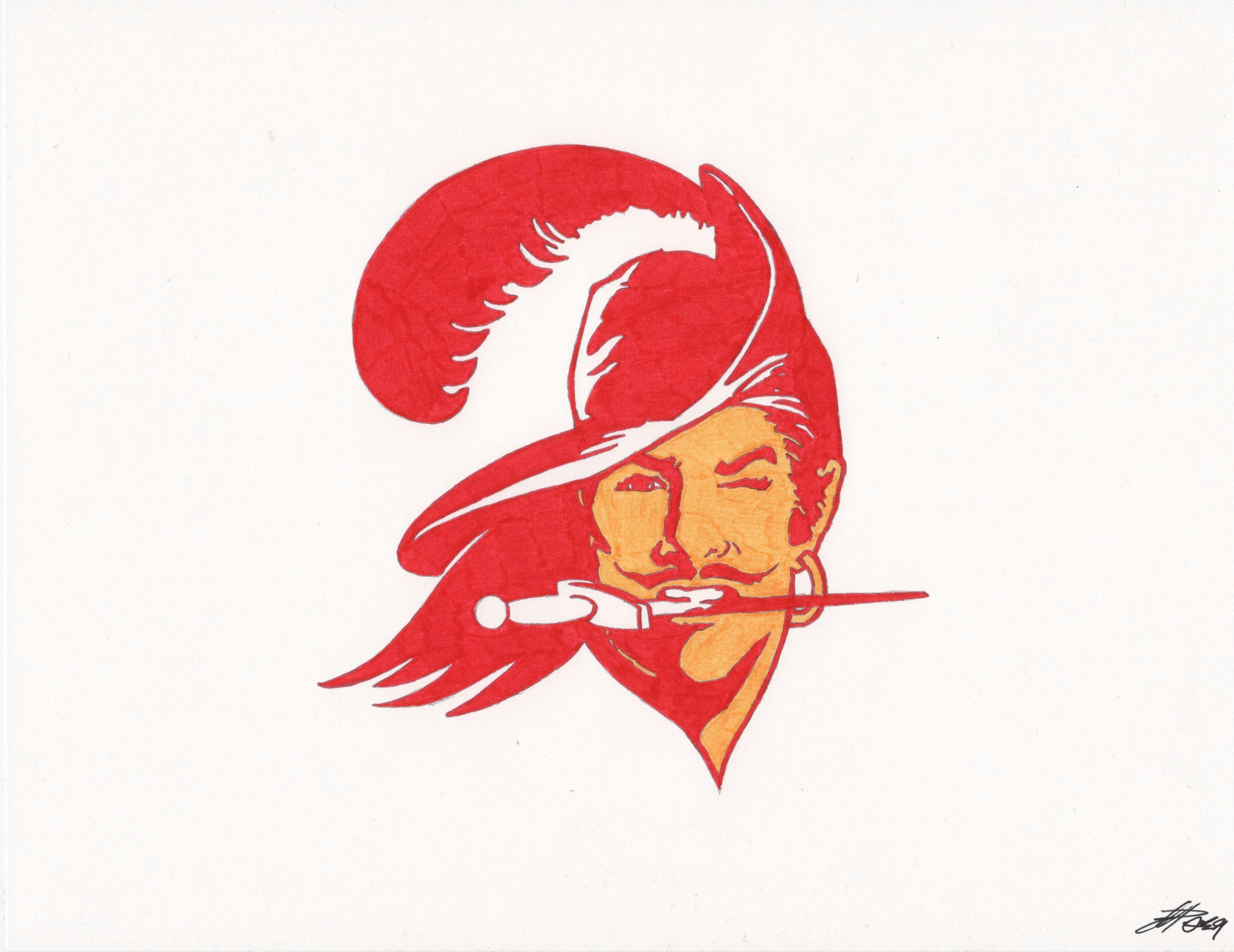Buccaneers Alternate/Throwback helmet Tampa bay