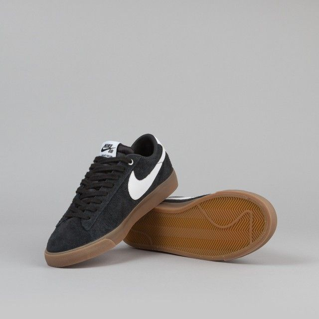 nike khaki blazer low metallic trainers