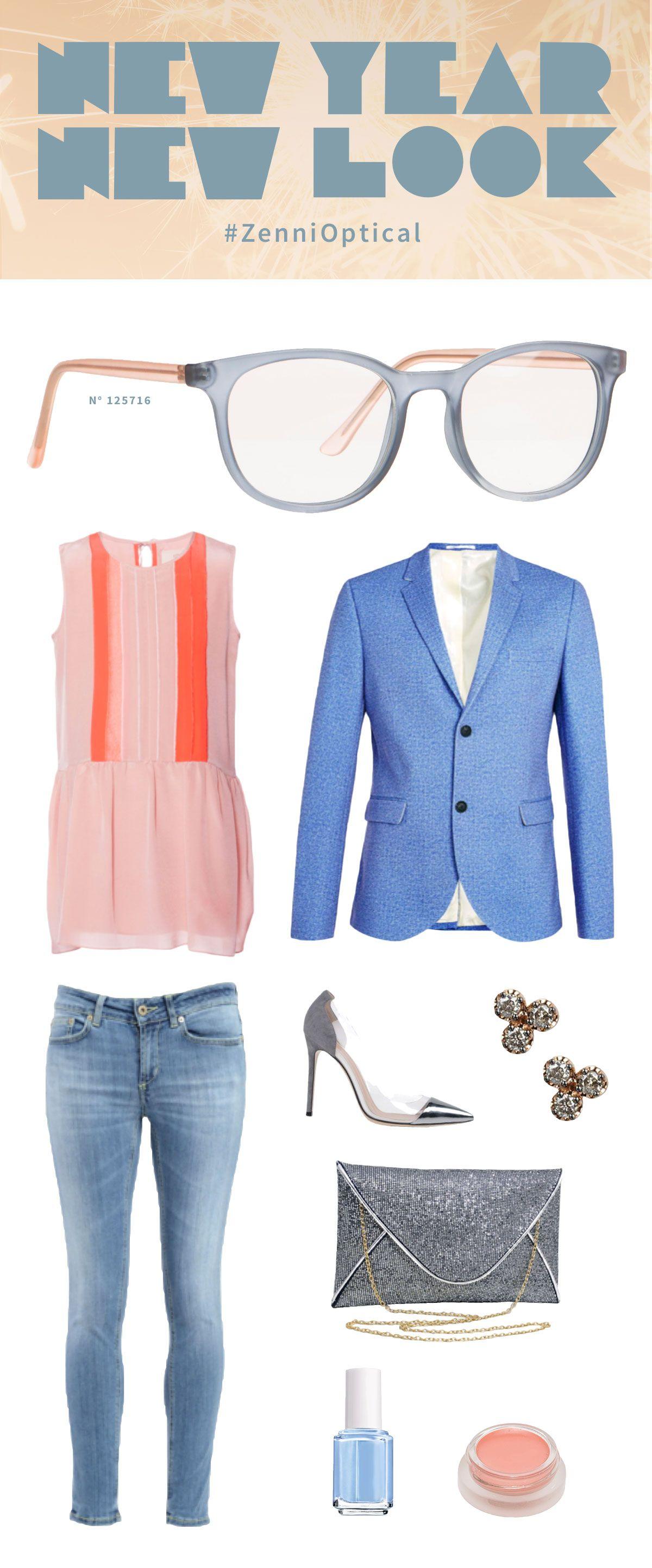 7df48d2c5b Enter the  ZenniOptical New Year New Look Pinterest contest! Just choose  your favorite Zenni