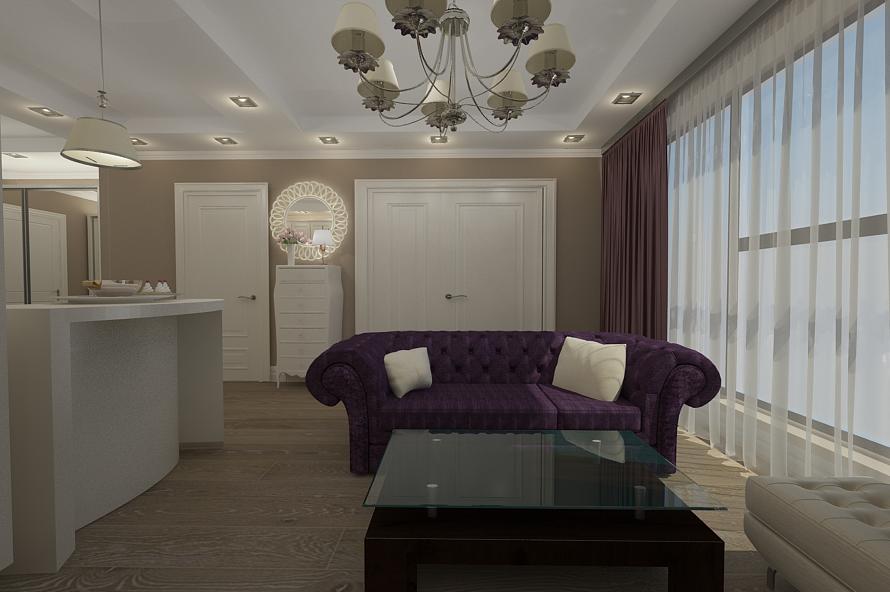 Design Interior New Clasic De Lux Realizat Pentru Apartament Open