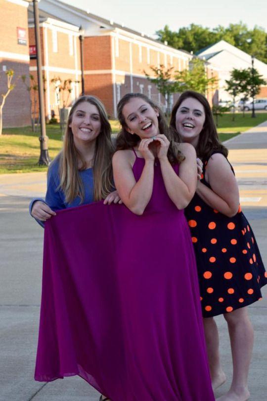 Annabeth, Rachel and Liz are #famgoals