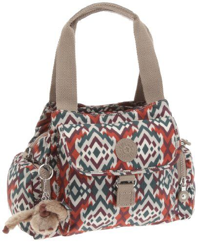 600974a027f Kipling Women's Fairfax Handbag/Shoulder Bag Gypsy Print K10970683 ...