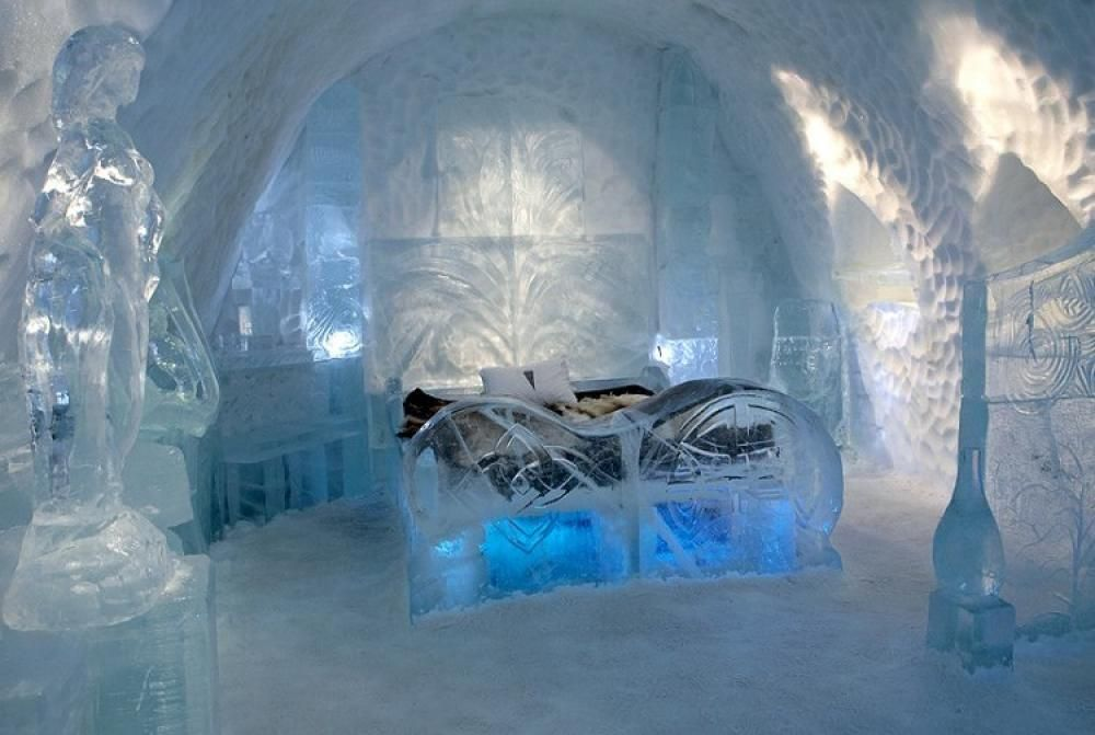 Incredible Icehotel Shows Off Stunning Fantasy Like Rooms Carved