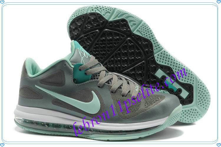 Dark Grey Mint Candy Lebron 9 Low EasterCool Grey New Green 510811 001 Lebron  James Basketball Shoes